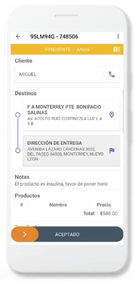 App para Repartidor